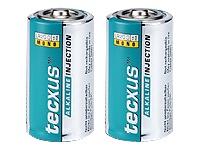 tecxus Mono LR 20 D Batteri 2 x D Alkalisk