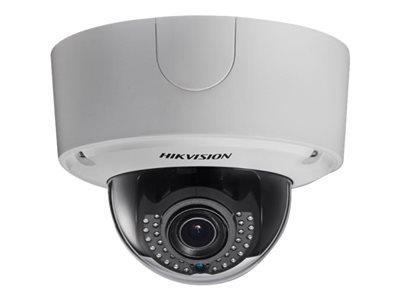 Hikvision Smart IPC DS-2CD4535FWD-IZH - Network surveillance camera - dome - outdoor - dust / vandal / waterproof - color (Day&Night) - 3 MP - 2048 x 1536 - auto iris - vari-focal - audio - composite - GbE - MJPEG, H.264 - DC 12 V / AC 24 V / PoE Plus