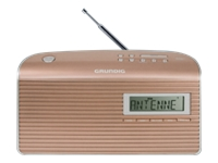 Grundig Music 7000 DAB+ DAB bærbar radio sølv, roseguld