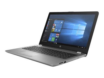 """HP 250 G6 - Core i3 6006U / 2 GHz - Win 10 Home 64-bit - 4 GB RAM - 500 GB HDD - DVD-Writer - 15.6"""" TN 1366 x 768 (HD) - HD Graphics 520 - Wi-Fi, Bluetooth - dark ash silver, woven texture - kbd: US"""