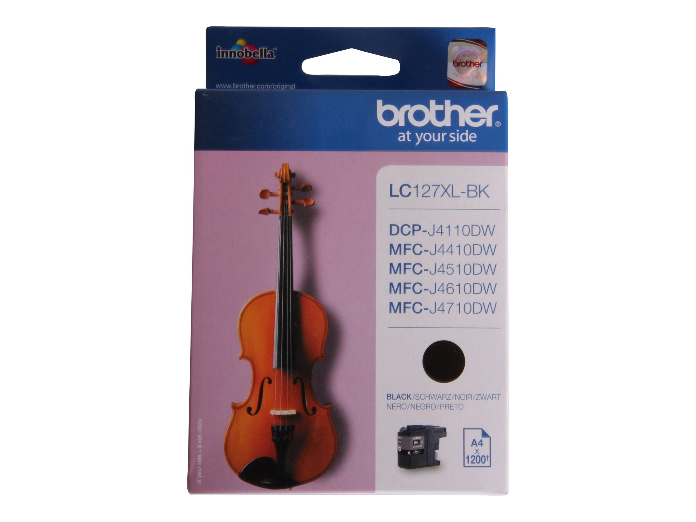 Brother LC127XLBK - Super High Yield - noir - originale - cartouche d'encre
