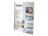 Epson Premium Glossy Photo Paper - papier photo brillant - 15 feuille(s)