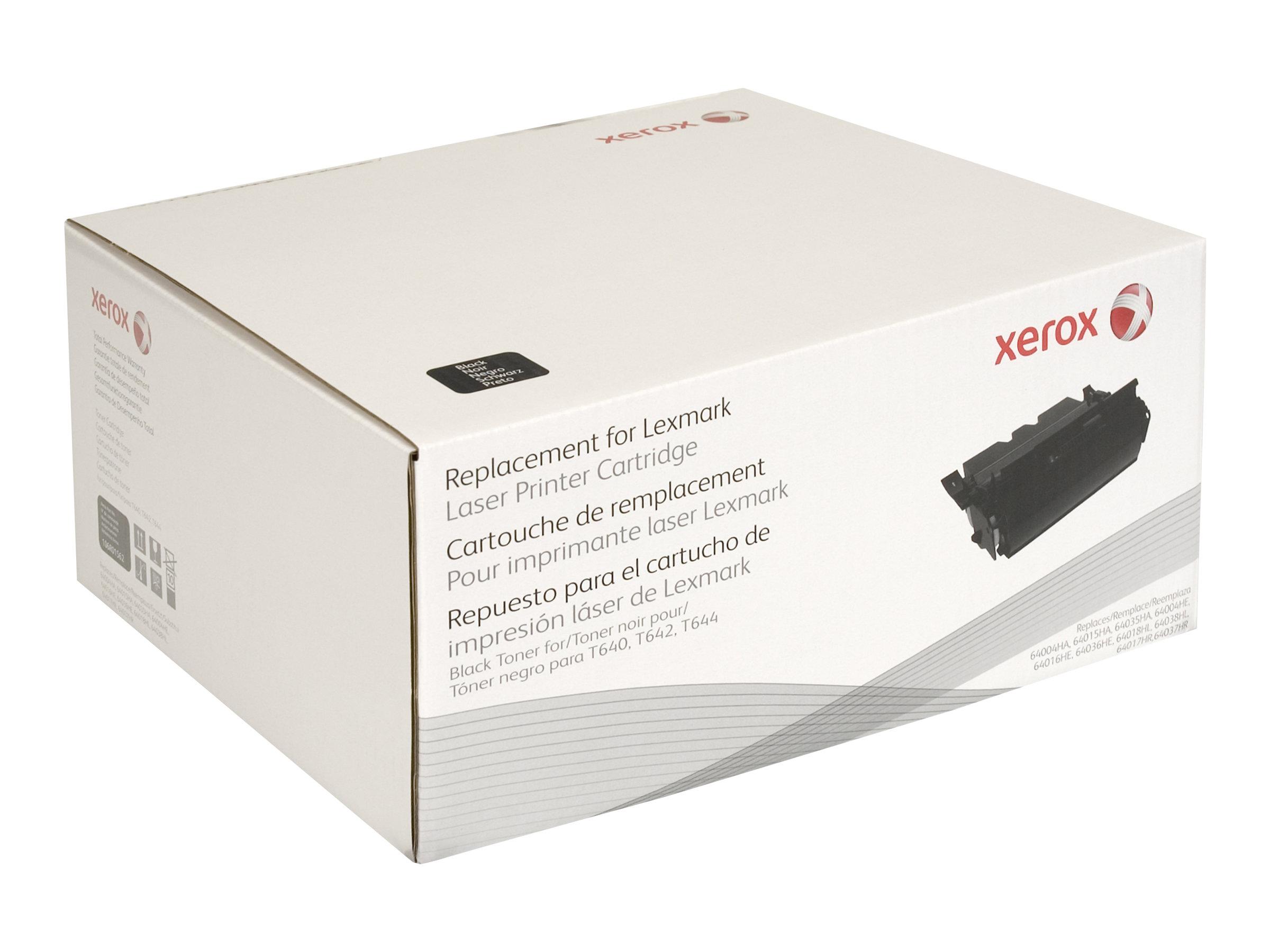 Xerox - noir - cartouche de toner (alternative pour: Lexmark 64036HE, Lexmark 64016HE)