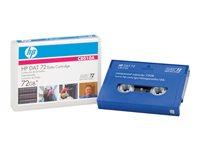 HP Cinta de datos DAT 72 DDS-5 36GBC8010A