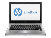 """HP EliteBook 8470p - Core i7 3520M / 2.9 GHz - Win 7 Pro 64-bit - 4 GB RAM - 500 GB HDD - DVD SuperMulti - 14"""" HD+ anti-glare 1600 x 900 (HD+) - Radeon HD 7570M - platinum"""