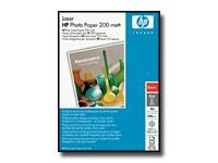 HP - papier photographique mat - 100 feuille(s)