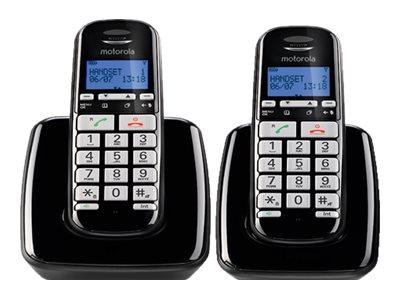 Motorola S3002 - téléphone sans fil avec ID d'appelant/appel en instance + combiné supplémentaire