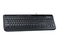 Microsoft Wired Keyboard 600 Keyboard - USB - English - North American layout - black - Keyboard - USB - English - North American layout - black