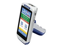 """Datalogic Joya Touch Basic - Data collection terminal - Win Embedded Compact 7 - 512 MB - 4.3"""" color TFT (854 x 480) - barcode reader - (2D imager) - Wi-Fi, NFC - gray, red"""