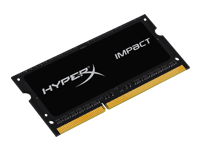 Kingston HyperX Impact Black Series - DDR3L - 8 Go - SO DIMM 204 broches