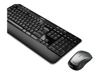 Logitech Wireless Combo MK520 - Keyboard and mouse set - wireless