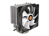 Thermaltake Contac Silent 12 - Processor cooler - (LGA775 Socket, LGA1156 Socket, Socket AM2, Socket AM2+, LGA1366 Socket, Socket AM3, LGA1155 Socket, Socket AM3+, Socket FM1, Socket FM2, LGA1150 Socket, LGA1151 Socket, Socket AM4)
