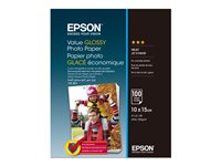 Epson Value - papier photo brillant - 100 feuille(s)