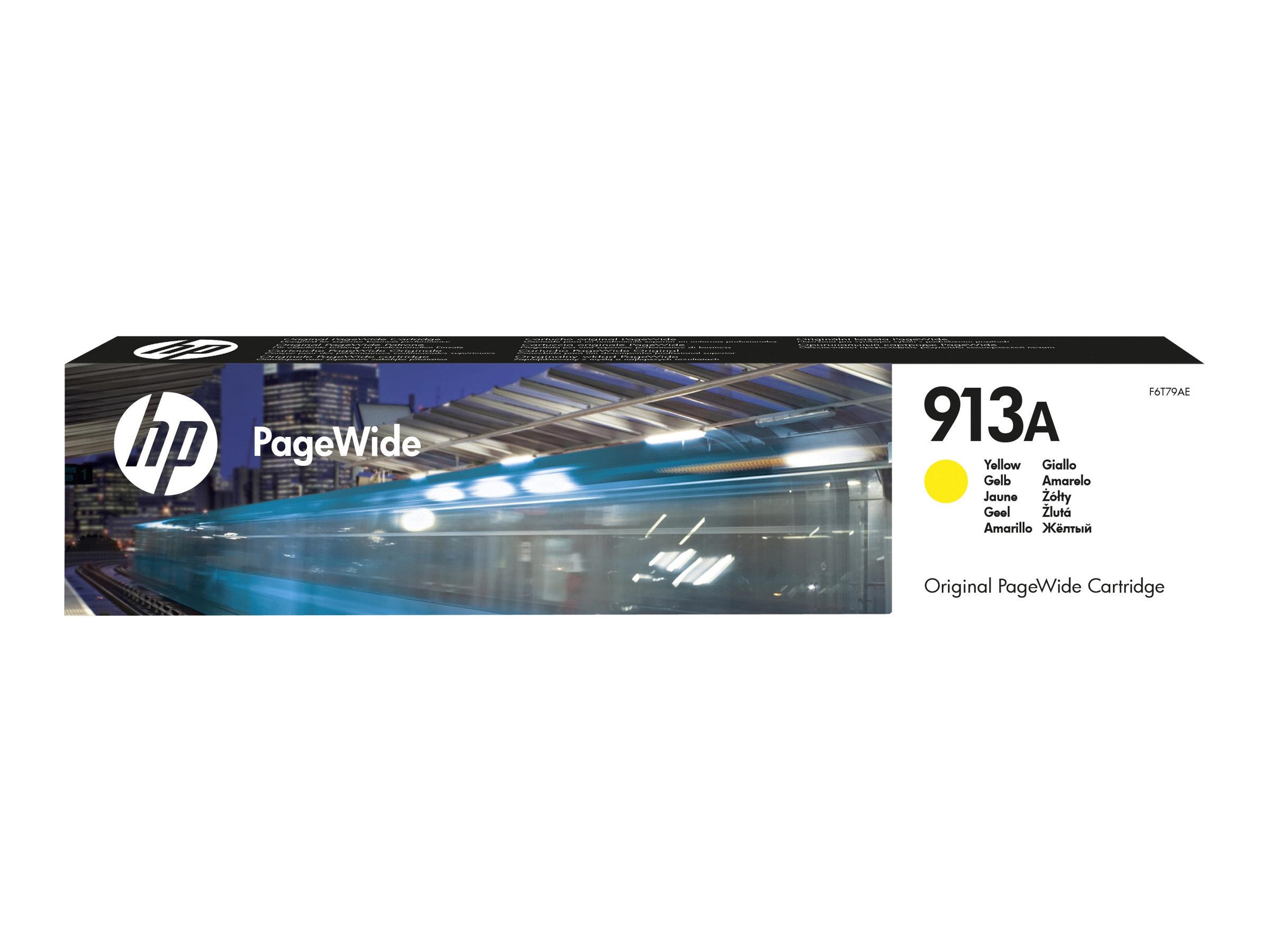 HP 913A - jaune - originale - PageWide - cartouche d'encre