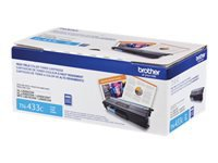 Brother TN-433C - High Yield - cyan - original - toner cartridge - for Brother HL-L8260CDW, HL-L8360CDW, HL-L8360CDWMT, HL-L8360CDWT, MFC-L8610CDW, MFC-L8900CDW