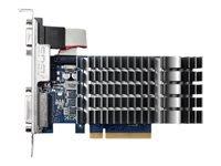 ASUS 710-1-SL Grafikkort GF GT 710 1 GB DDR3 PCIe 2.0 DVI, D-Sub, HDMI