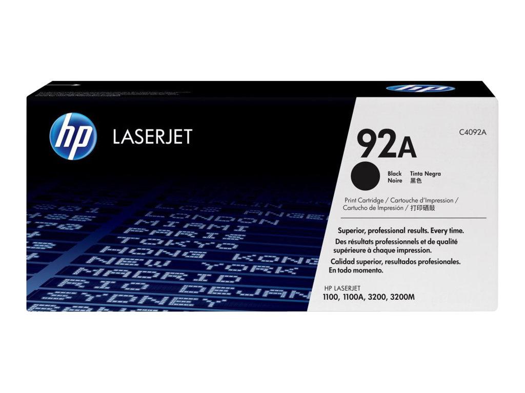 HP 92A - noir - originale - LaserJet - cartouche de toner (C4092A)