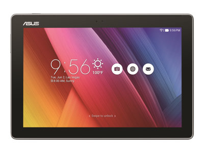 "ASUS ZenPad 10 Z300M - Tablet - Android 6.0 (Marshmallow) - 64 GB eMMC - 10.1"" IPS (1280 x 800) - microSD slot - dark gray"