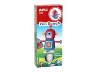 APLI kids Fun Dough Walking Robots - kit de pâte à modeler