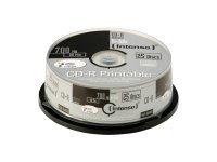 Intenso - CD-R x 25 - 700 MB - soportes de almacenamiento