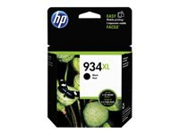 HP 934XL - 25.5 ml - High Yield - pigmented black - original - ink cartridge - for Officejet 6812, 6815, 6820; Officejet Pro 6230, 6230 ePrinter, 6830, 6835
