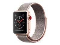 Apple Watch Series 3 (GPS + Cellular) 42 mm guldaluminium