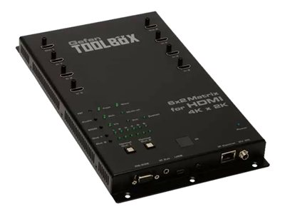 GefenToolBox 6x2 Matrix for HDMI 4Kx2K - Video/audio switch - managed - wall-mountable