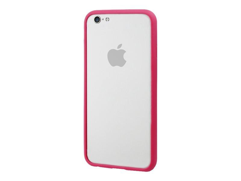 Muvit iBelt - Coque pare-chocs pour iPhone 6 - rose