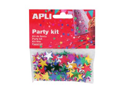 Apli Party - confettis - 14 gr - étoiles