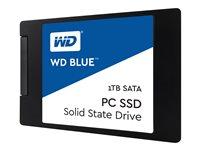 WD, SSD Blue 1TB 2.5 7mm SATA Gen 3