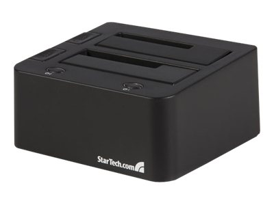startech.com esata usb to sata external hdd dock for dual 2.5 or 3.5in