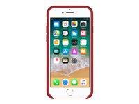 Apple (PRODUCT) RED Bagomslag til mobiltelefon læder rød