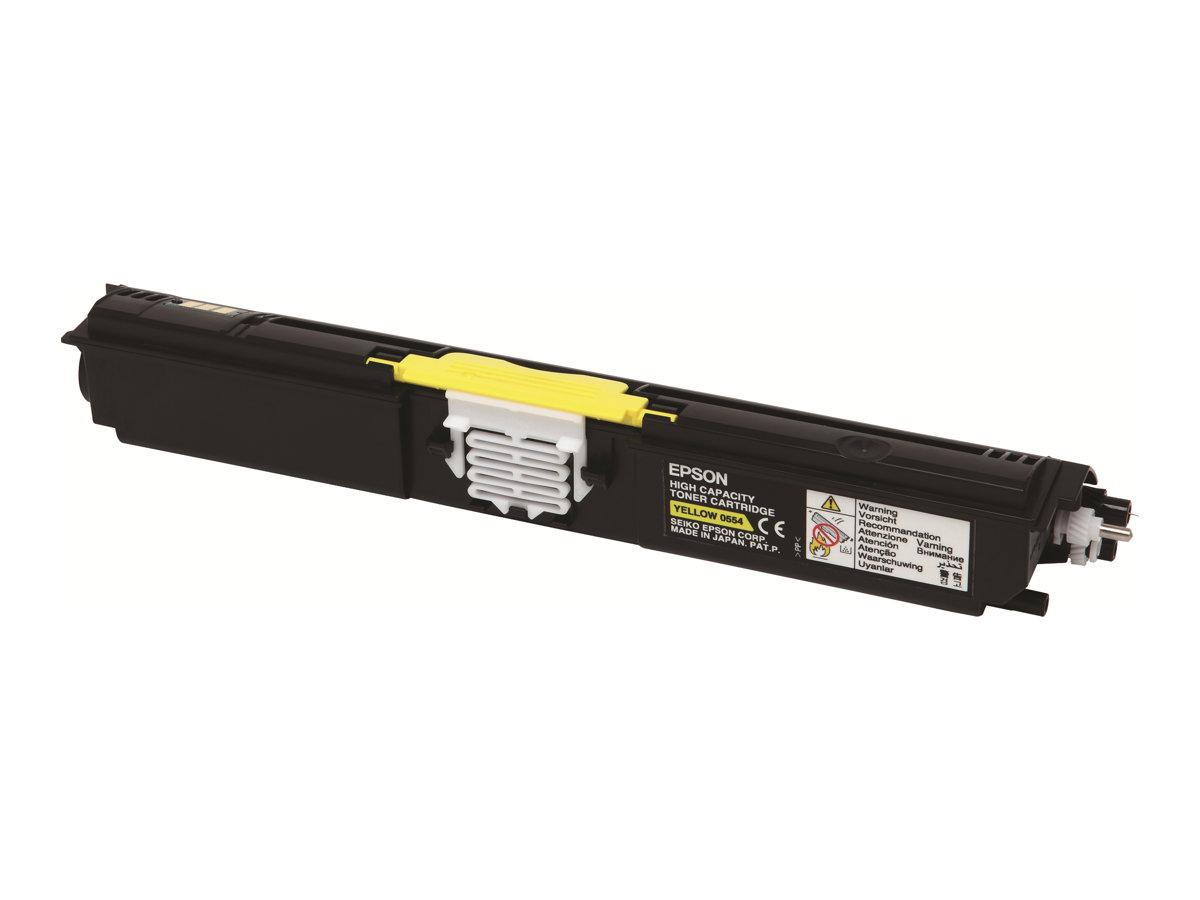Epson - Haute capacité - jaune - originale - cartouche de toner - S050554