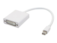 AddOn 8in Mini-DP to DVI-I USB Video Adapter