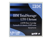 IBM TotalStorage - LTO Ultrium x 1 - 2.5 To - support de stockage