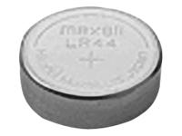 Maxell Batteri 10 x LR44 Alkalisk 60 mAh