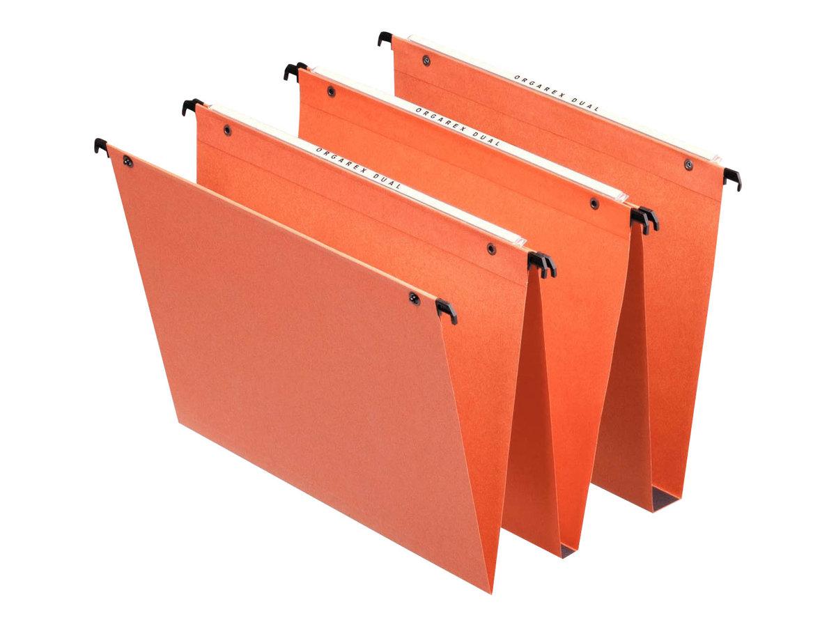 Esselte Orgarex Dual - 25 Dossiers suspendus - Pour tiroir - fond 30 mm