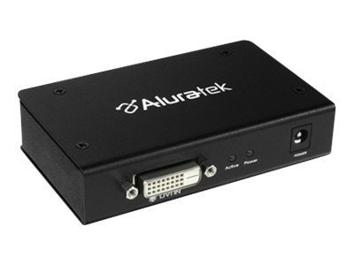 Aluratek ADS02F - Video splitter - 2 x DVI - desktop