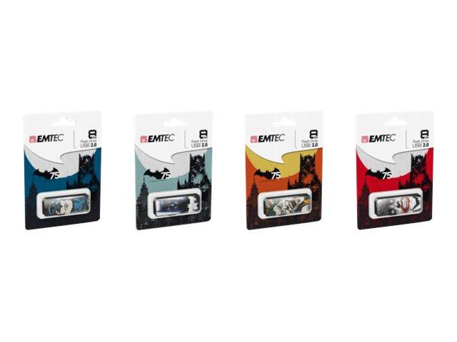 EMTEC M700 Batman mix - clé USB - 8 Go