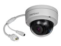 TRENDnet Indoor/Outdoor 8MP 4K H.265 WDR PoE IR Dome Network Camera