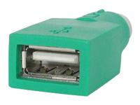 StarTech.com Adaptateur de remplacement souris PS/2 vers USB - Convertisseur PS/2 vers USB - Femelle / Mâle