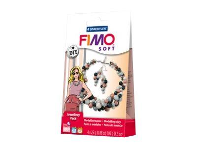 FIMO soft DIY jewellery pack pearl - pâte à modeler