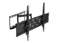 Klip Xtreme KPM-885 - Mounting kit (interface plate, interface bracket, dual articulating arm) for LCD / plasma panel - powder-coated steel