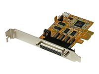 StarTech.com 4 Port PCI Express (PCIe) RS232 Serial Card with Power and ESD