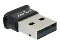 DeLock Adapter USB 2.0 Bluetooth V3.0 + EDR Netværksadapter USB 2.0