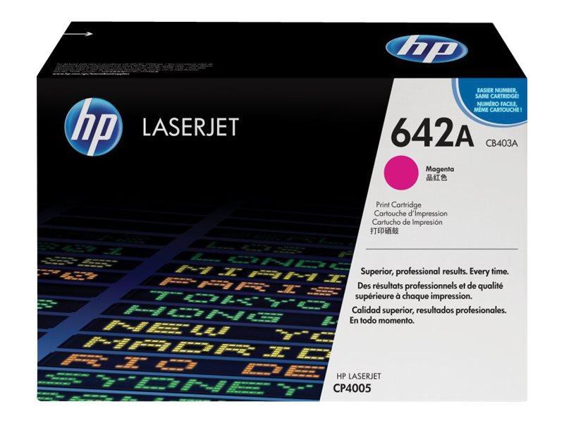 HP 642A - magenta - original - LaserJet - cartouche de toner ( CB403A )