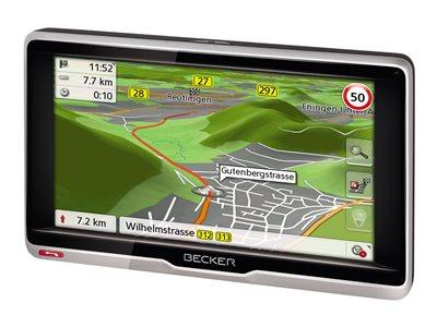 Becker Transit .6s EU - Lifetime Map Update - GPS navigace - automobil 6.2 palec širokoúhlá obrazovka