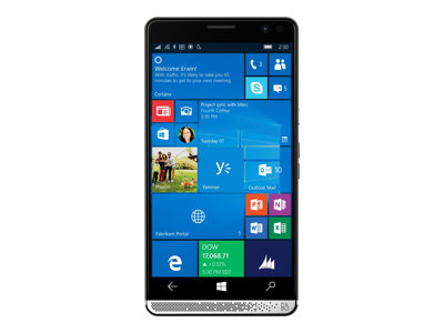 "HP Elite x3 - Smartphone - 3-in-1 - dual-SIM - 4G LTE Advanced - 64 GB - microSDXC slot - GSM - 5.96"" - 2560 x 1440 pixels (494 ppi) - AMOLED - RAM 4 GB - 16 MP (8 MP front camera) - Windows 10 - HP Graphite"