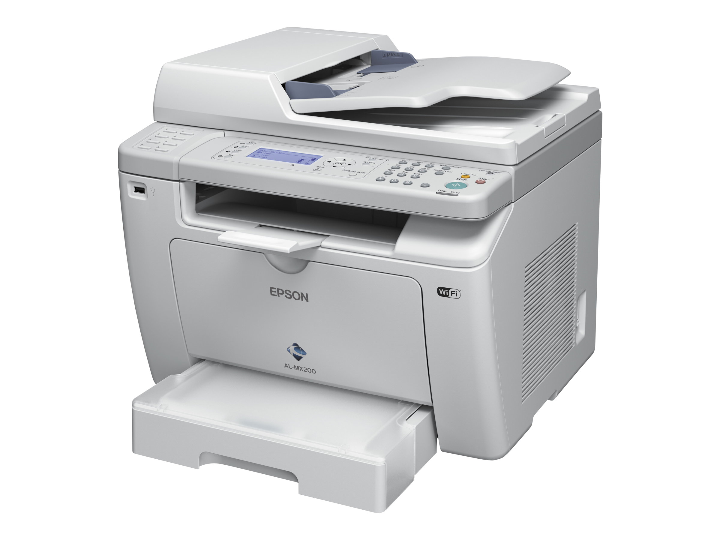 Epson WorkForce AL-MX200DWF - imprimante multifonctions (Noir et blanc)