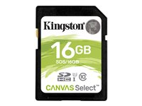 Kingston Canvas Select - Tarjeta de memoria flash - 16 GB